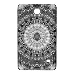 Feeling Softly Black White Mandala Samsung Galaxy Tab 4 (8 ) Hardshell Case  by designworld65