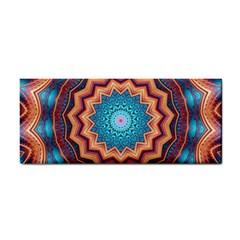 Blue Feather Mandala Cosmetic Storage Cases