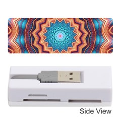 Blue Feather Mandala Memory Card Reader (Stick)