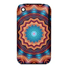 Blue Feather Mandala iPhone 3S/3GS