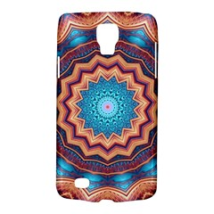 Blue Feather Mandala Galaxy S4 Active
