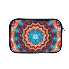Blue Feather Mandala Apple Macbook Pro 13  Zipper Case