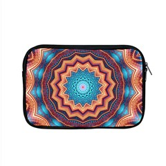 Blue Feather Mandala Apple Macbook Pro 15  Zipper Case