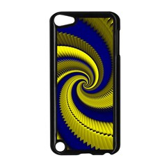 Blue Gold Dragon Spiral Apple Ipod Touch 5 Case (black) by designworld65