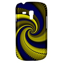 Blue Gold Dragon Spiral Galaxy S3 Mini by designworld65