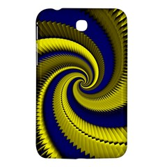 Blue Gold Dragon Spiral Samsung Galaxy Tab 3 (7 ) P3200 Hardshell Case