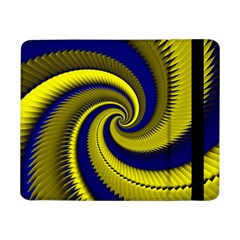 Blue Gold Dragon Spiral Samsung Galaxy Tab Pro 8 4  Flip Case by designworld65