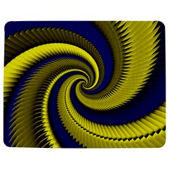 Blue Gold Dragon Spiral Jigsaw Puzzle Photo Stand (rectangular)