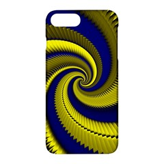 Blue Gold Dragon Spiral Apple Iphone 7 Plus Hardshell Case