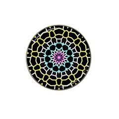 Colored Window Mandala Hat Clip Ball Marker (10 Pack)