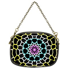 Colored Window Mandala Chain Purses (one Side)  by designworld65