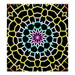 Colored Window Mandala Shower Curtain 66  X 72  (large)