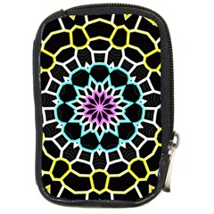 Colored Window Mandala Compact Camera Cases