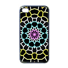 Colored Window Mandala Apple Iphone 4 Case (black)