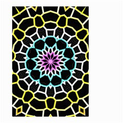 Colored Window Mandala Small Garden Flag (two Sides)