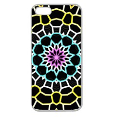 Colored Window Mandala Apple Seamless Iphone 5 Case (clear) by designworld65