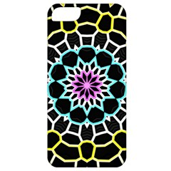 Colored Window Mandala Apple Iphone 5 Classic Hardshell Case by designworld65