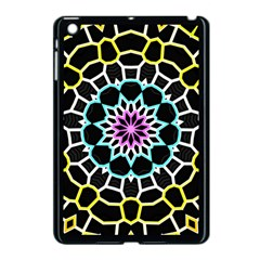 Colored Window Mandala Apple Ipad Mini Case (black) by designworld65