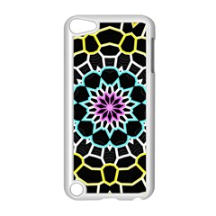 Colored Window Mandala Apple Ipod Touch 5 Case (white) by designworld65