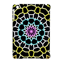 Colored Window Mandala Apple Ipad Mini Hardshell Case (compatible With Smart Cover)