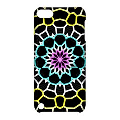 Colored Window Mandala Apple Ipod Touch 5 Hardshell Case With Stand by designworld65