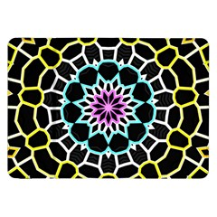 Colored Window Mandala Samsung Galaxy Tab 8 9  P7300 Flip Case by designworld65