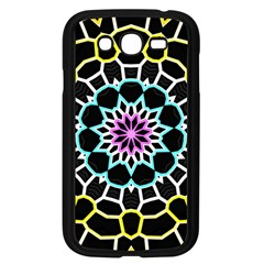 Colored Window Mandala Samsung Galaxy Grand Duos I9082 Case (black) by designworld65