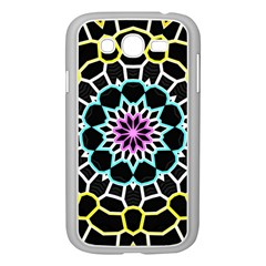 Colored Window Mandala Samsung Galaxy Grand Duos I9082 Case (white)