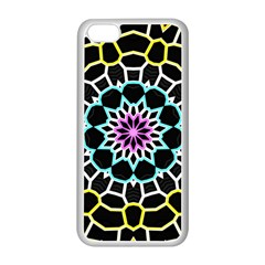 Colored Window Mandala Apple Iphone 5c Seamless Case (white)