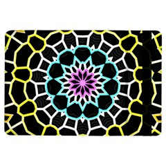 Colored Window Mandala Ipad Air Flip