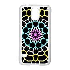 Colored Window Mandala Samsung Galaxy S5 Case (white) by designworld65