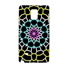 Colored Window Mandala Samsung Galaxy Note 4 Hardshell Case by designworld65