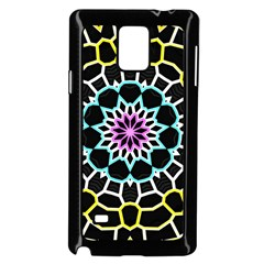 Colored Window Mandala Samsung Galaxy Note 4 Case (black)