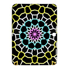 Colored Window Mandala Samsung Galaxy Tab 4 (10 1 ) Hardshell Case