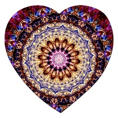 Dreamy Mandala Jigsaw Puzzle (heart) by designworld65