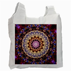 Dreamy Mandala Recycle Bag (one Side) by designworld65