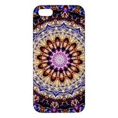 Dreamy Mandala Apple Iphone 5 Premium Hardshell Case by designworld65