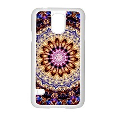 Dreamy Mandala Samsung Galaxy S5 Case (white) by designworld65