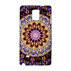 Dreamy Mandala Samsung Galaxy Note 4 Hardshell Case by designworld65