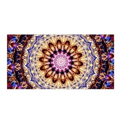 Dreamy Mandala Satin Wrap by designworld65