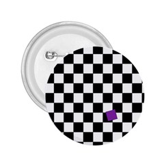 Dropout Purple Check 2 25  Buttons by designworld65