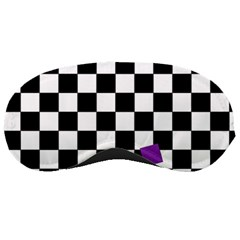 Dropout Purple Check Sleeping Masks