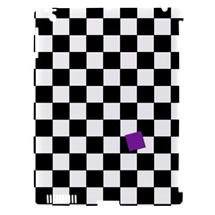 Dropout Purple Check Apple Ipad 3/4 Hardshell Case (compatible With Smart Cover) by designworld65