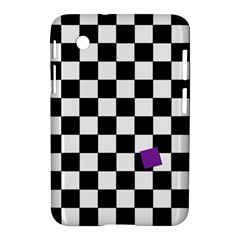 Dropout Purple Check Samsung Galaxy Tab 2 (7 ) P3100 Hardshell Case