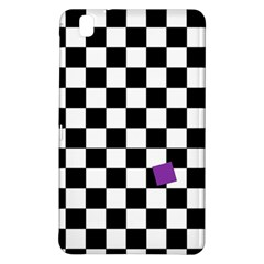 Dropout Purple Check Samsung Galaxy Tab Pro 8 4 Hardshell Case by designworld65