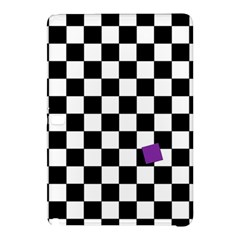 Dropout Purple Check Samsung Galaxy Tab Pro 12 2 Hardshell Case by designworld65