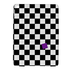 Dropout Purple Check Ipad Air 2 Hardshell Cases by designworld65