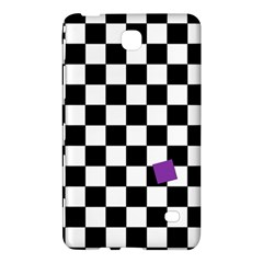 Dropout Purple Check Samsung Galaxy Tab 4 (8 ) Hardshell Case  by designworld65