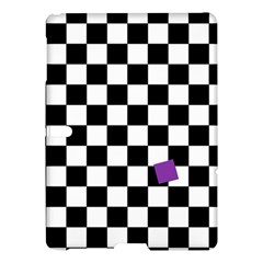 Dropout Purple Check Samsung Galaxy Tab S (10 5 ) Hardshell Case  by designworld65