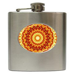 Powerful Love Mandala Hip Flask (6 Oz)